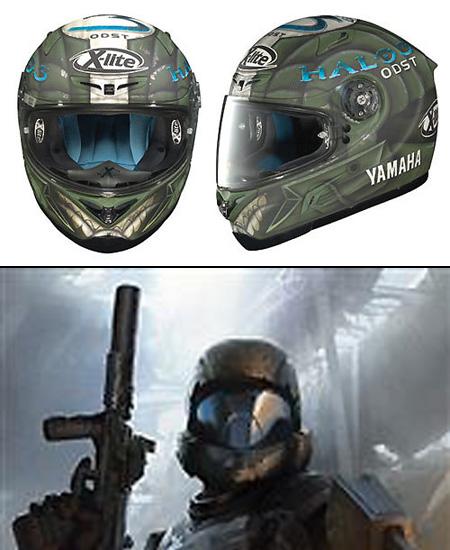 Gundam Motorcycle Helmet Halo 3 Motorcycle Helmet