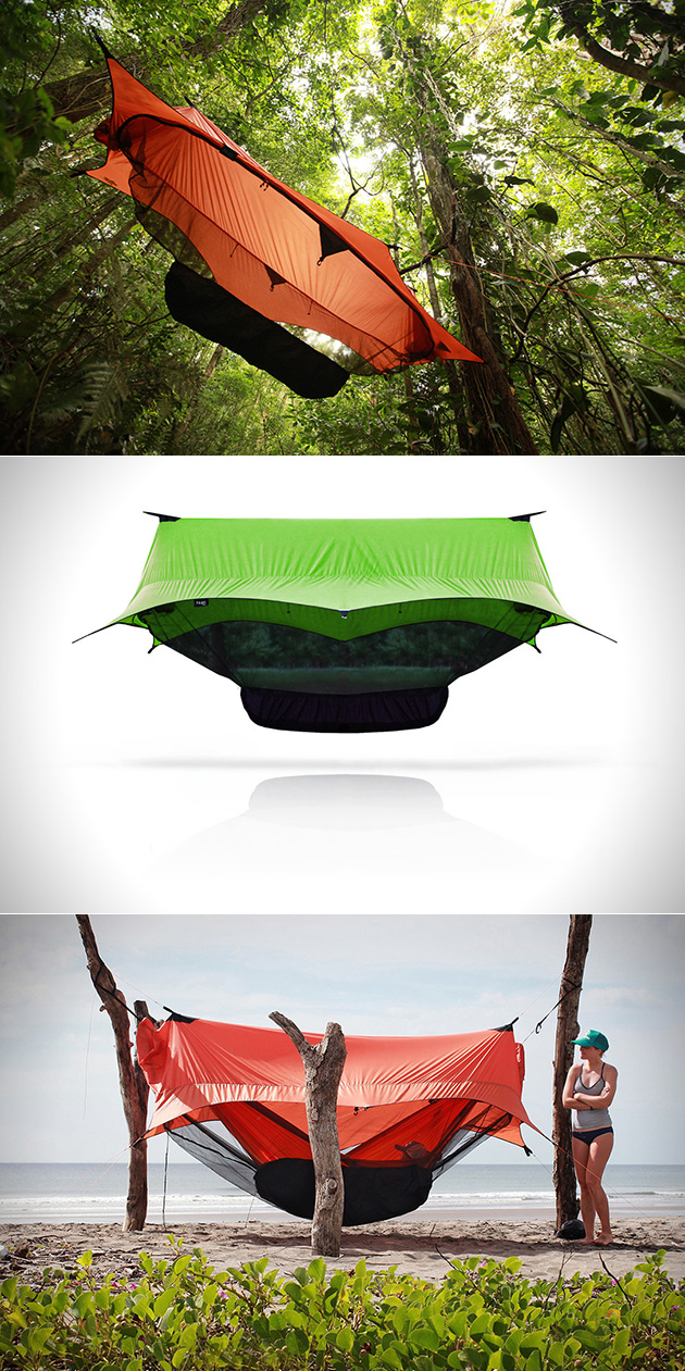 Forget Normal Tents Sierra Madre S Nube Hammock Shelter