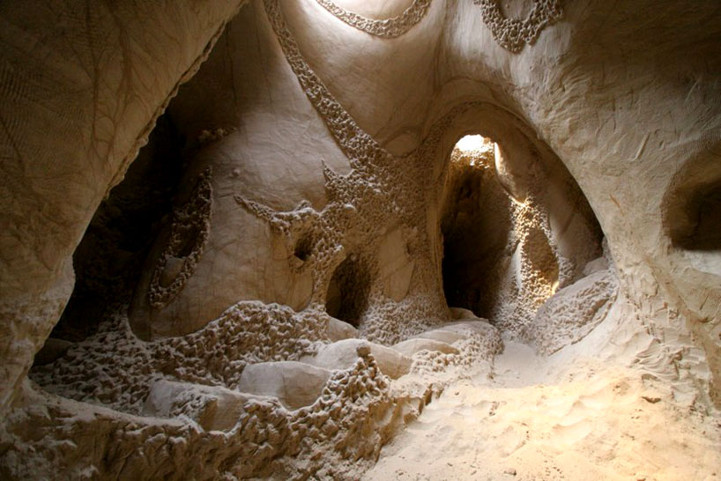 Hand-Carved Caverns