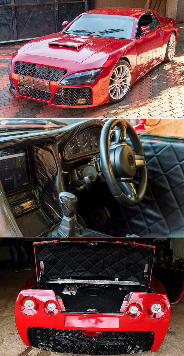 engineer hand builds sports car of his dreams has taillights from nissan gt r techeblog. Black Bedroom Furniture Sets. Home Design Ideas