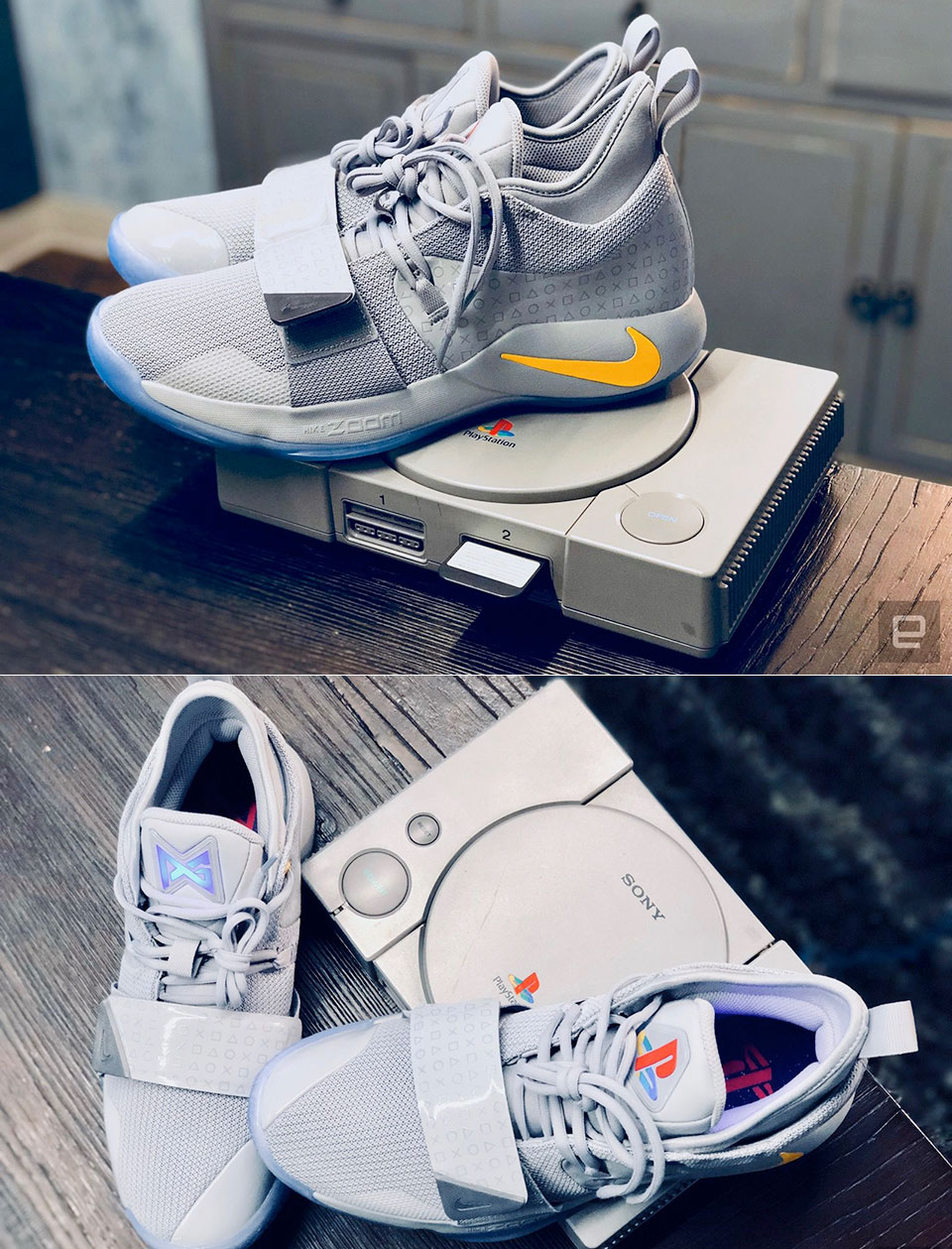 buy popular 31b64 68b15 Hands-On Pictures of Nike's New PG 2.5 x PlayStation ...