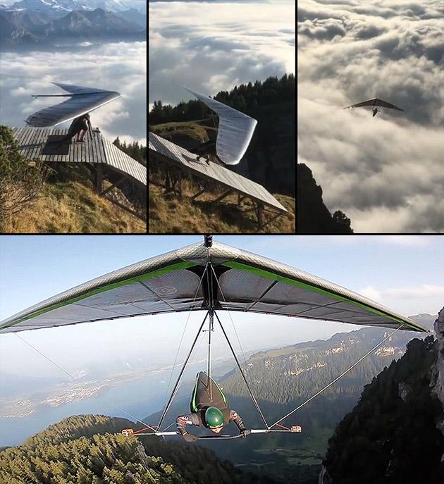 Hang Gliding Mountain