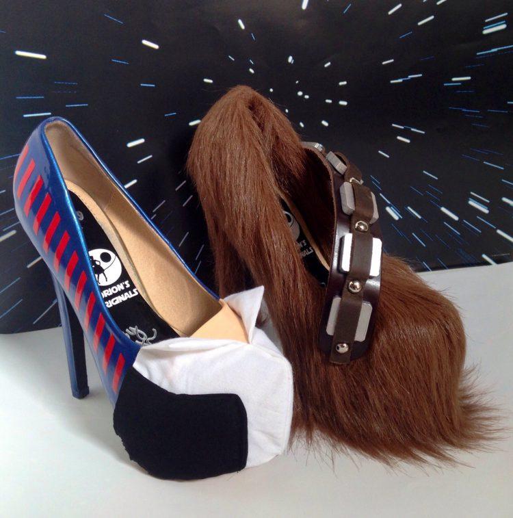 Han Solo Chewbacca Heels