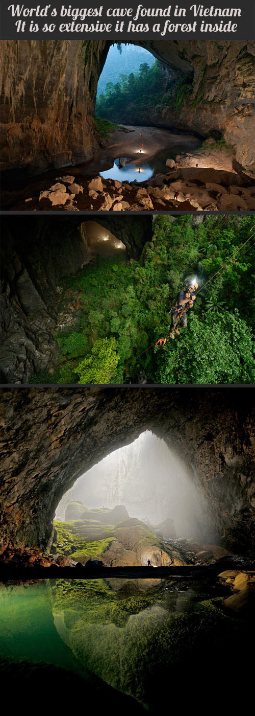 Han Soon Doong World's Largest Cave