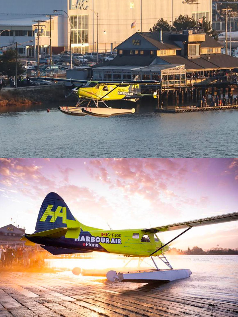 Harbour Air eBeaver Electric Aircraft