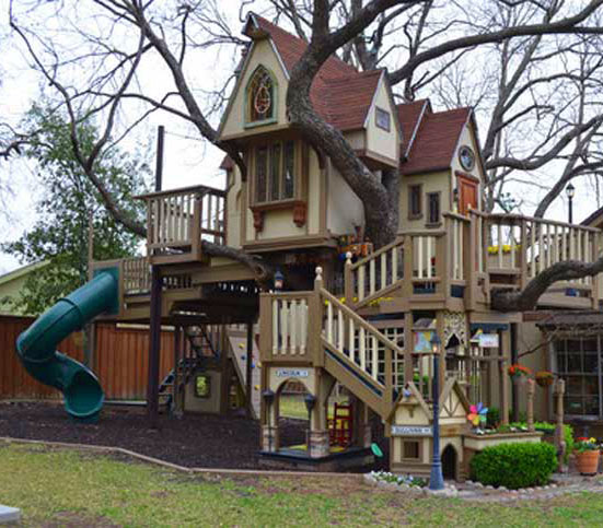 Harry Potter Treehouse