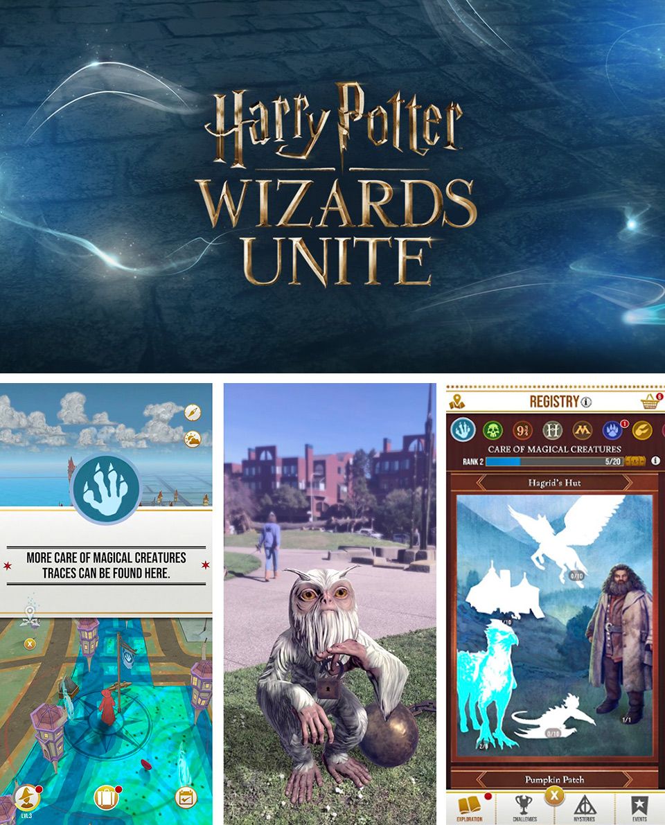 Harry Potter: Wizards Unite AR Game