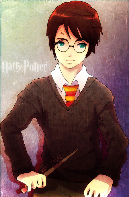 If Harry Potter was an AnimeHarry Potter Anime Episode 1