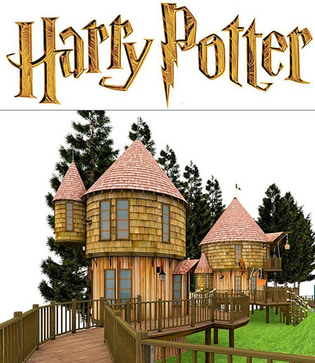 J K Rowling To Build Harry Potter Style Tree Houses In Her