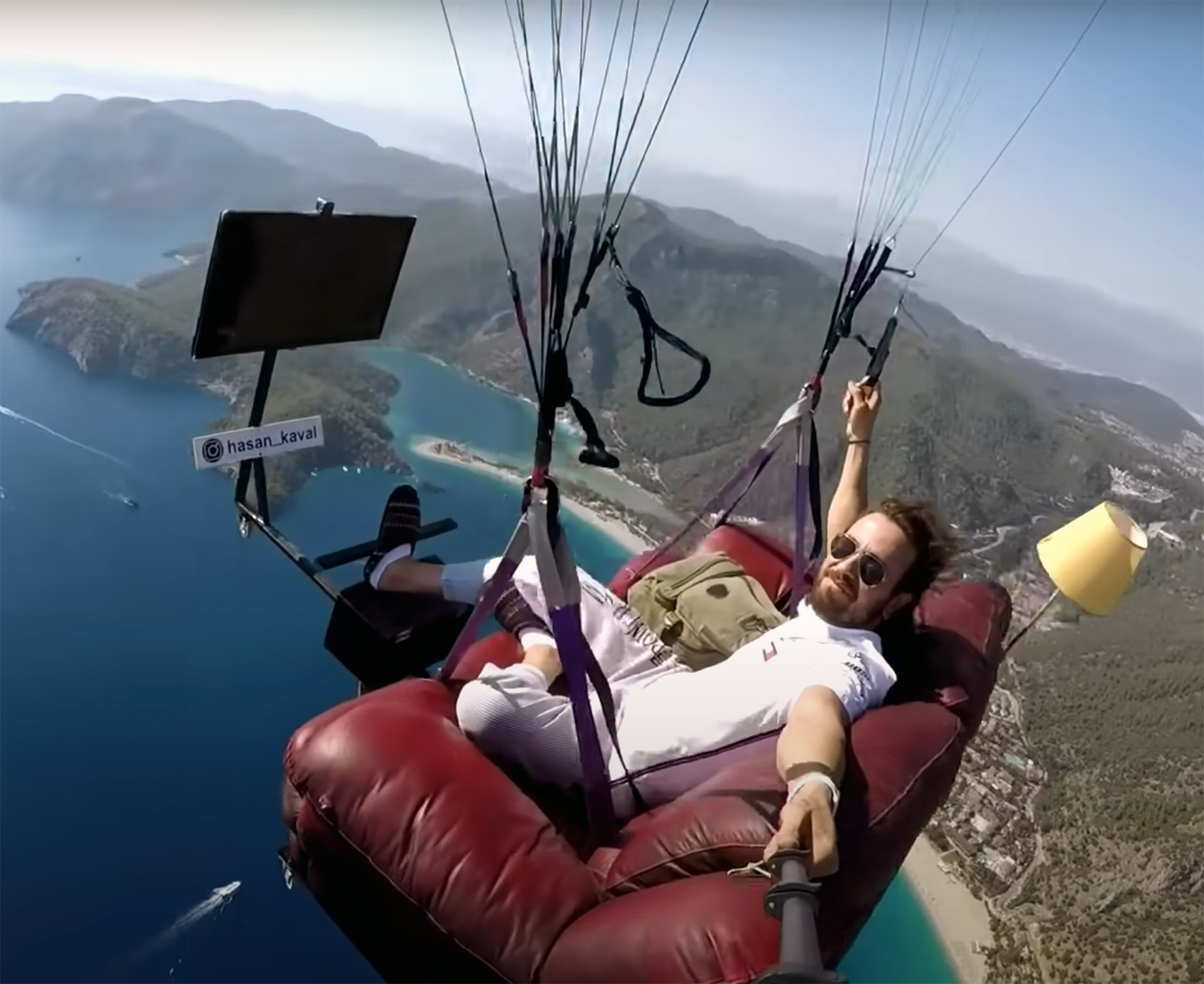 Hasan Kaval Turkish Paragliding Couch Potato TV