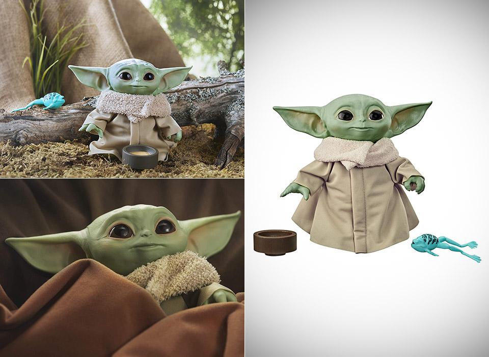 Hasbro Star Wars The Child Baby Yoda Talking Toy