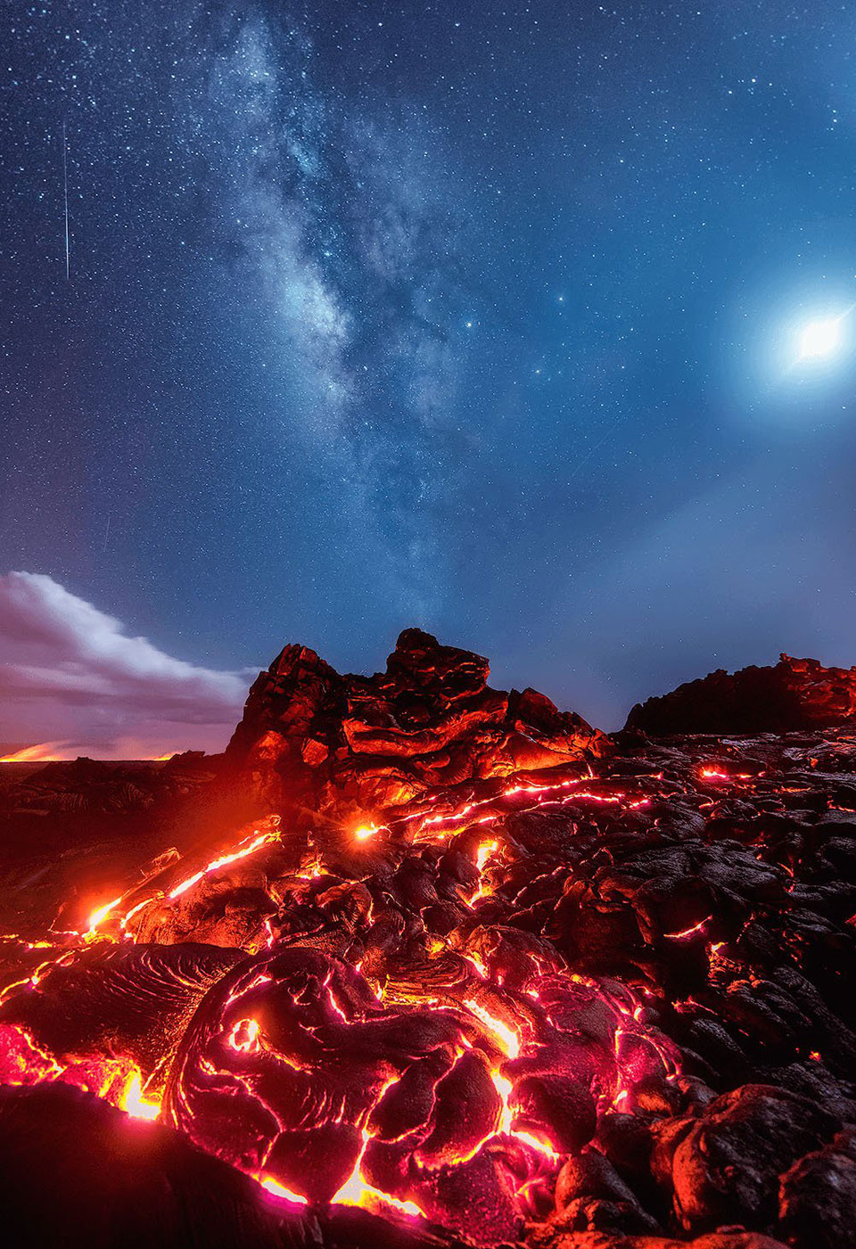 Hawaii Lava Photo