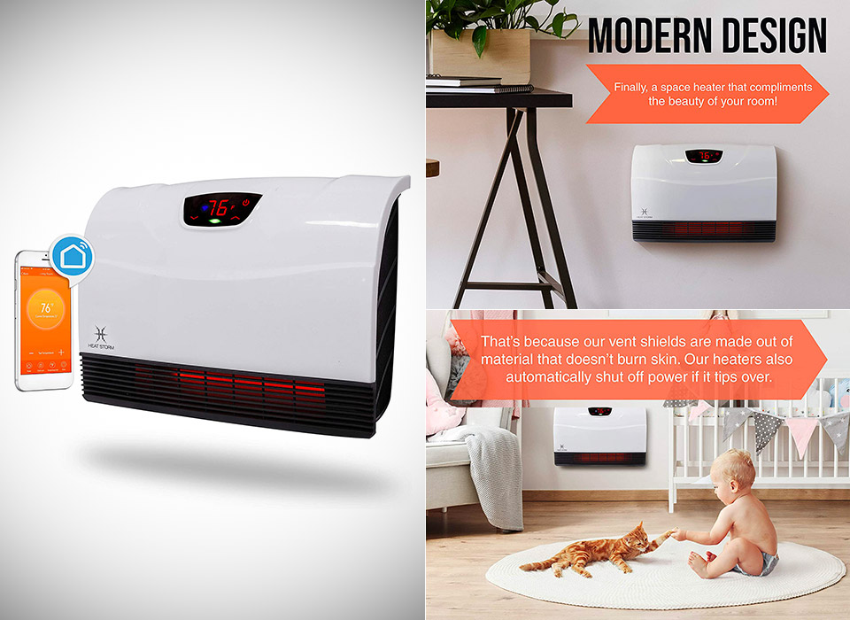 Heat Storm HS-1500-HX-WIFI Infrared Heater