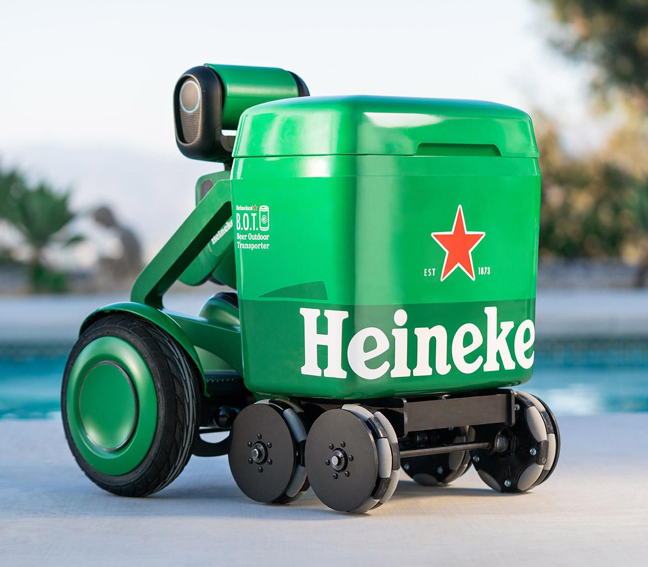 Heineken BOT Beer Outdoor Transporter Robot