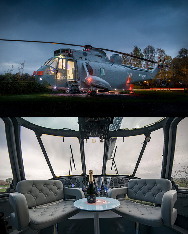 Helicopter Glamping Hotel