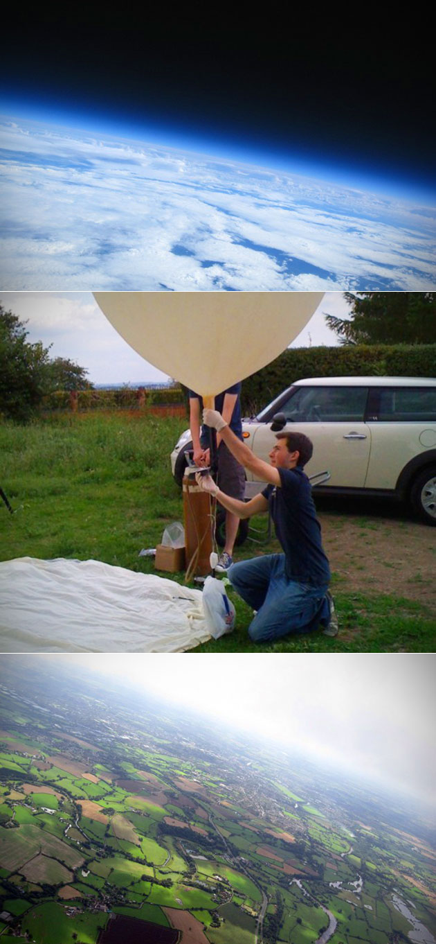 Helium Balloon Space