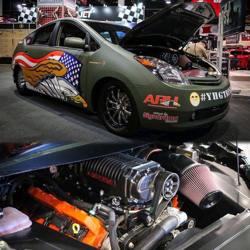Hellcat V8 Prius