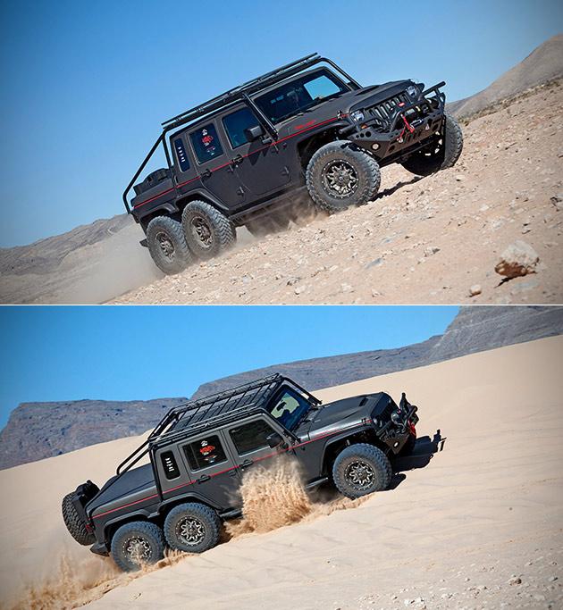 Hellhog Jeep