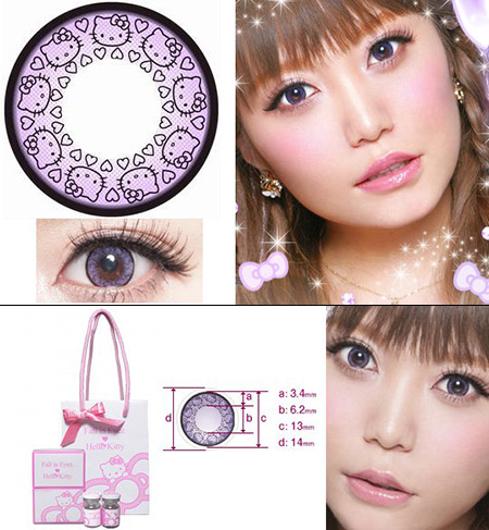 Hello Kitty Contact Lenses