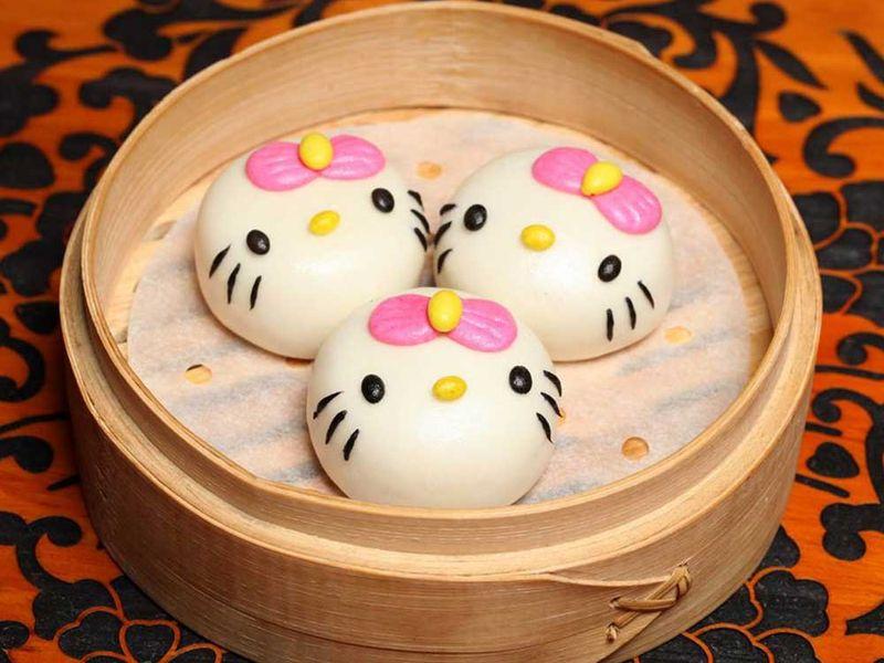 Hello Kitty Restaurant Hong Kong