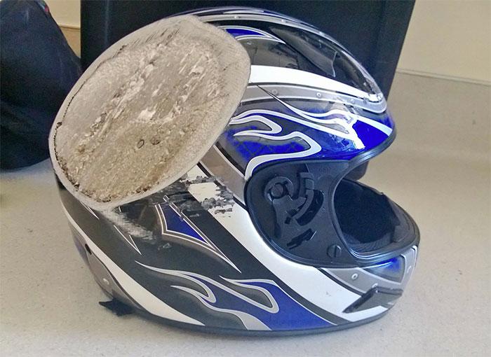 Helmet Road Rash