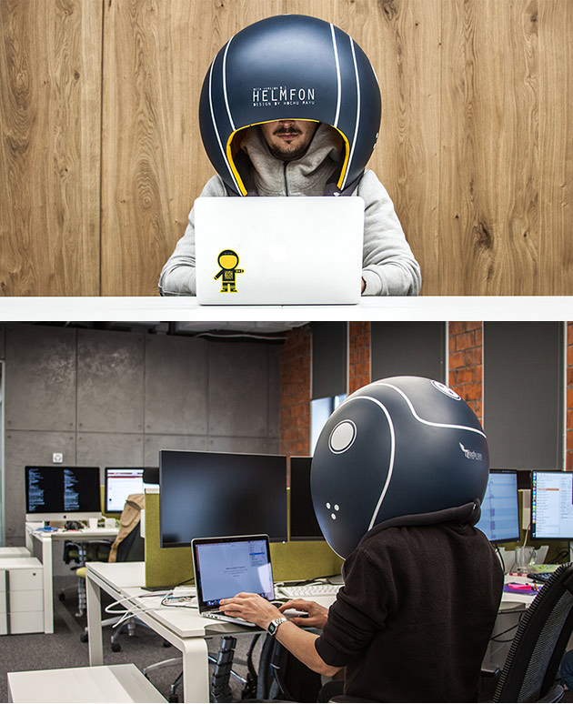 Helmfon Office Helmet