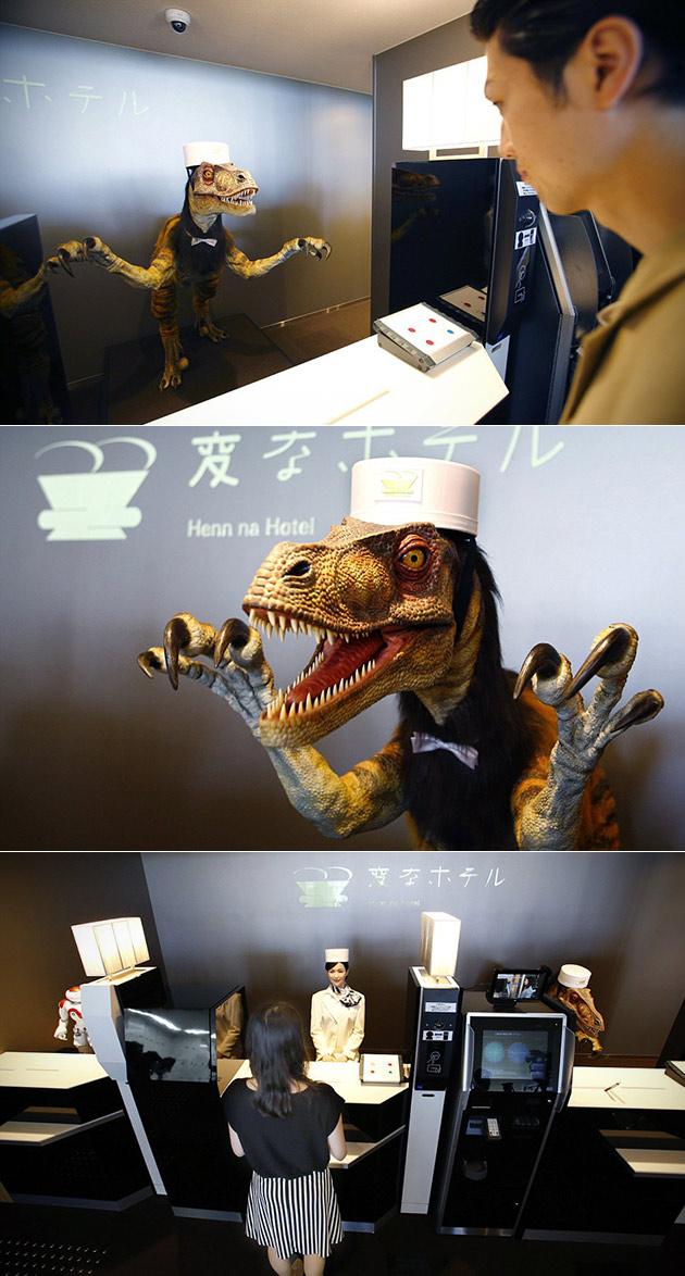 Henn-na Hotel Robot Hotel