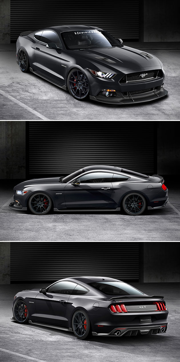 Hennessey HPE700 Ford Mustang