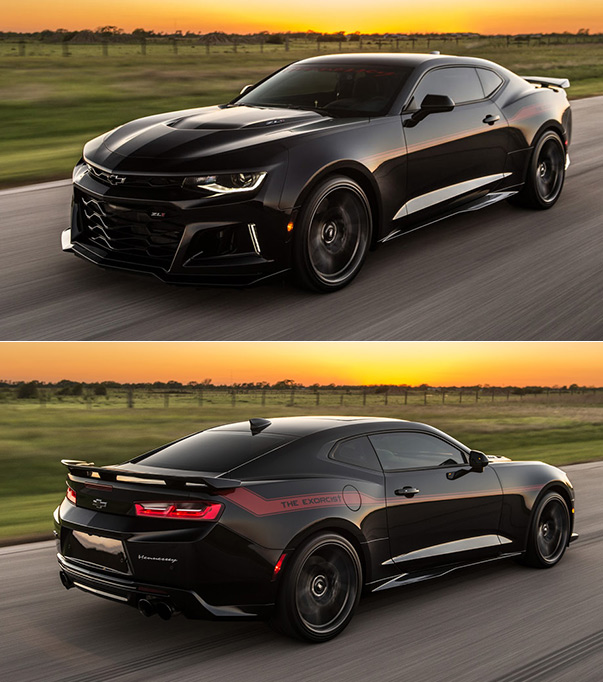 "Hennessey Unveils ""The Exorcist"", A 1,000-Horsepower"