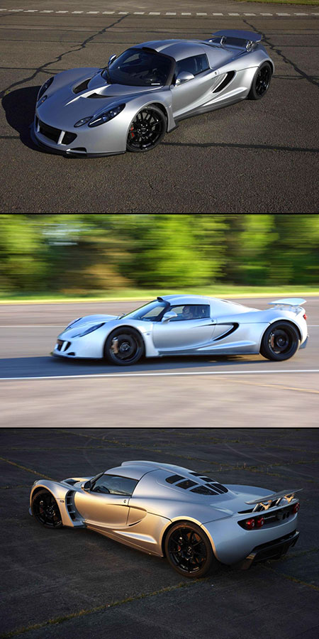 Hennessey Venom Gt Becomes World S Fastest Production Car
