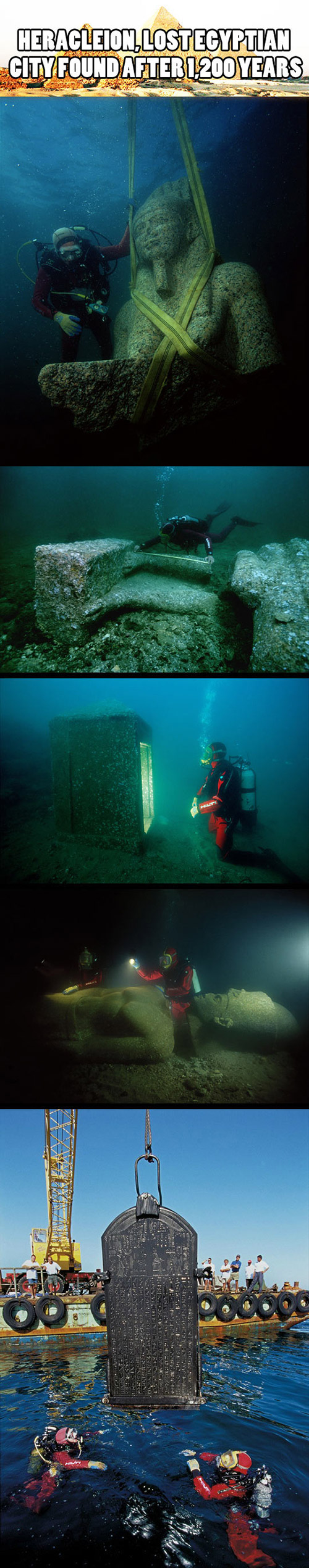 Heracleion Lost Egyptian City