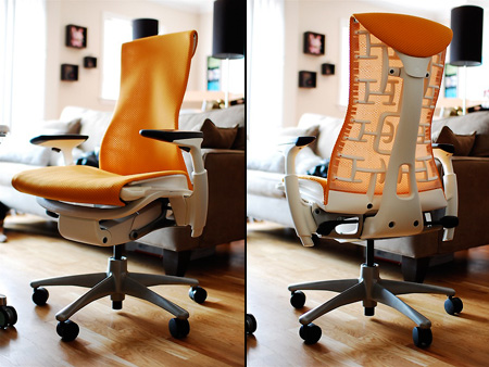 embody chair herman miller. Herman Miller Embody Chair Hands-On