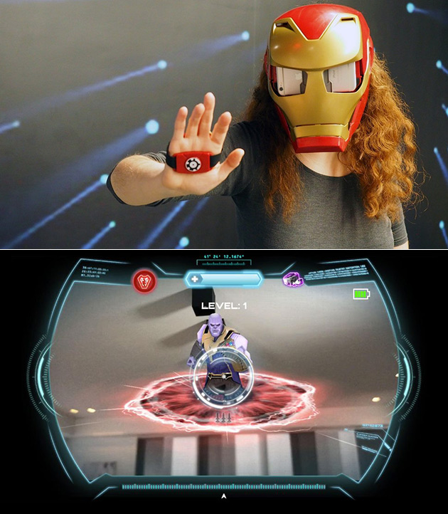 Hero Vision AR Lets You Become Iron Man and Fight Thanos When Paired with a Smartphone