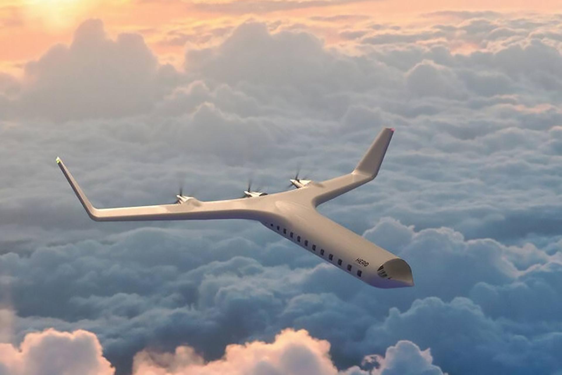 Hero Zero Passenger Plane Electric