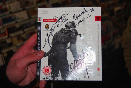 Hideo Kojima MGS4