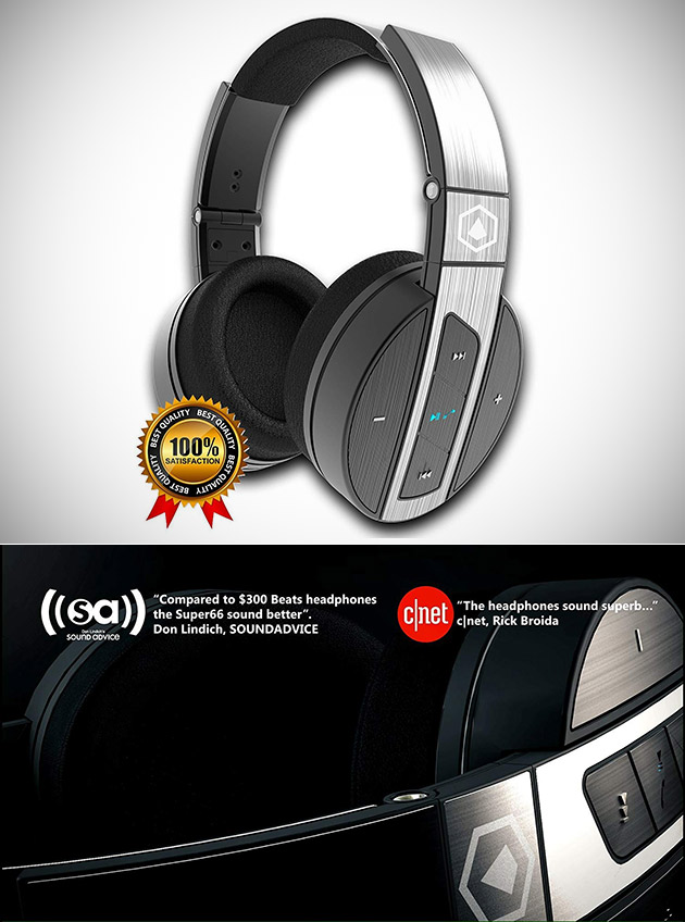 HiFi Elite Super66 Bluetooth Headphones