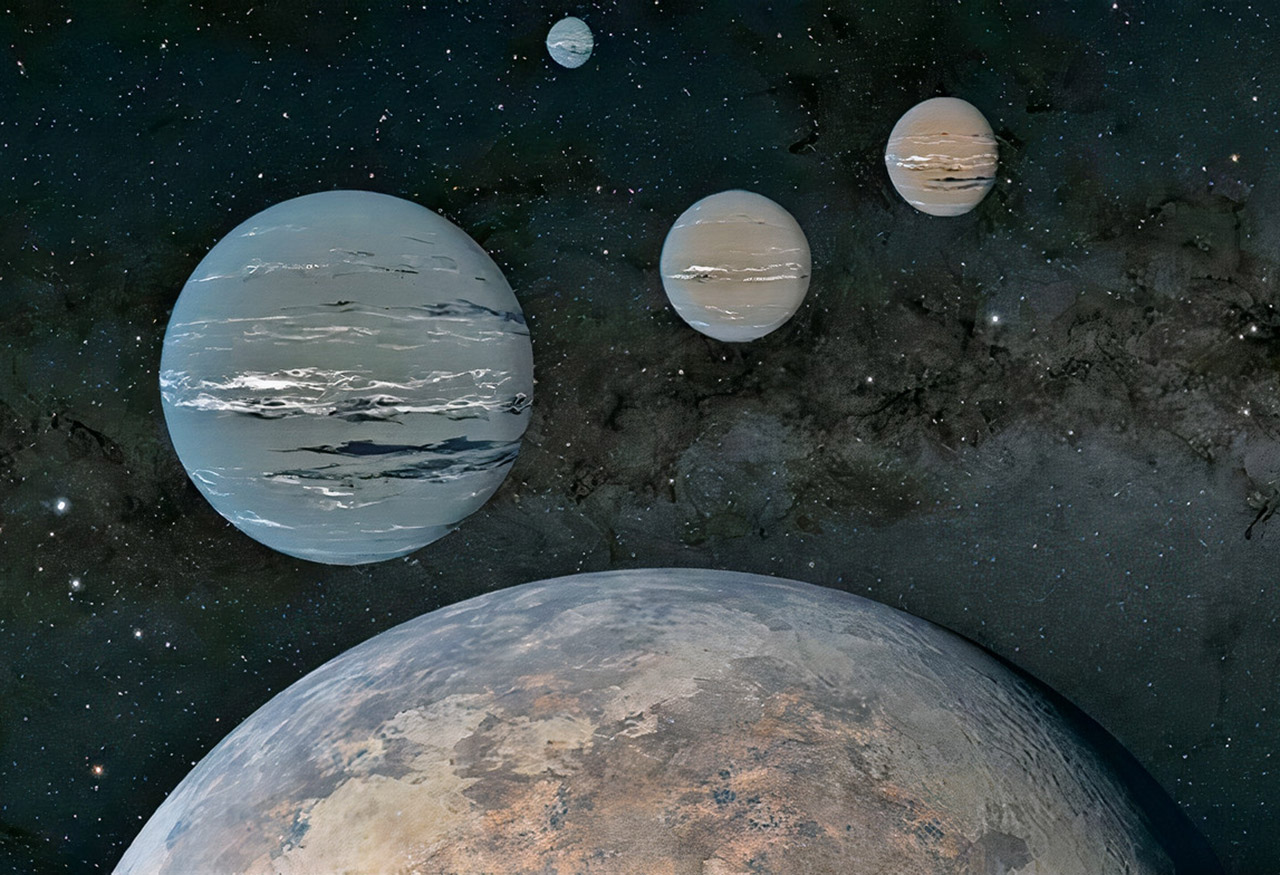 High School Student Exoplanet Star Astronomy
