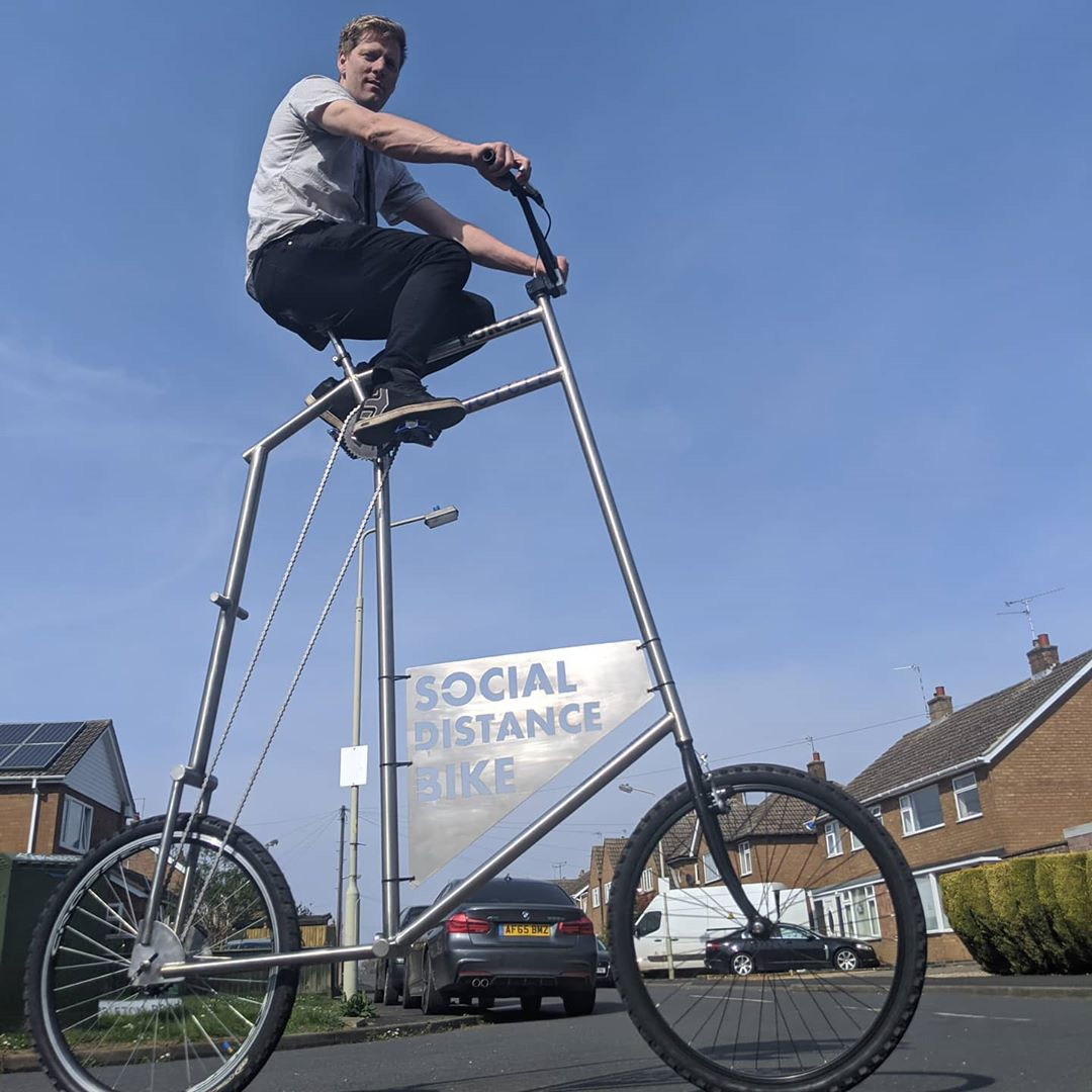 Highcycle Bike Social Distancing