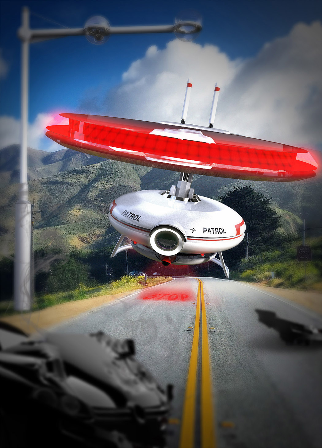 Highway Patrol Drone