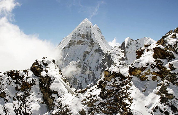 Himalayas Above 20,000-Feet