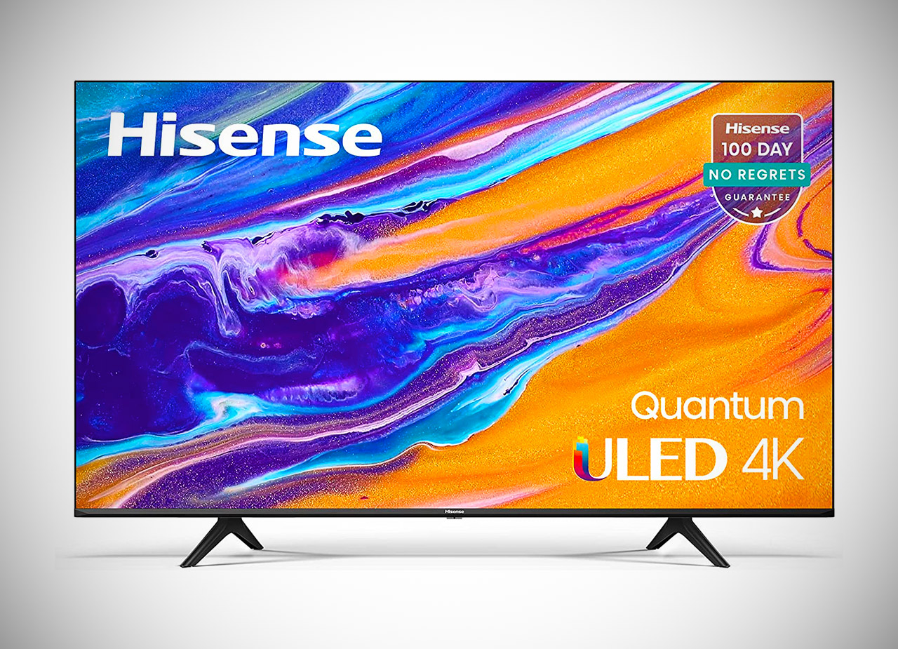 Hisense 55-inch ULED 55U6G 4K Android Smart TV Review Deal