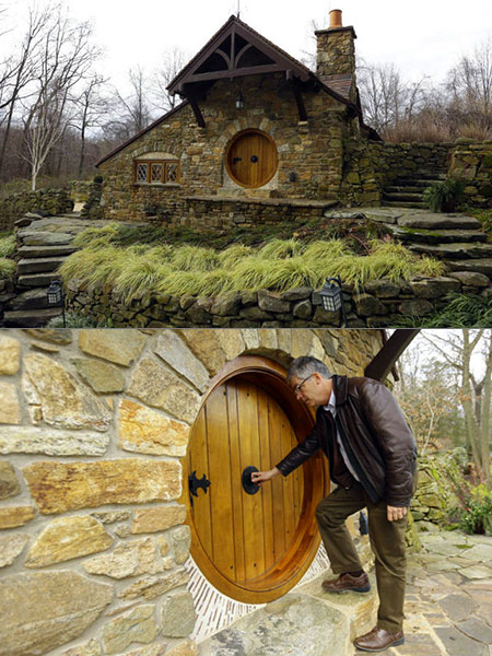 lord of the rings fans build real life hobbit house - Lord Of The Rings Hobbit Home
