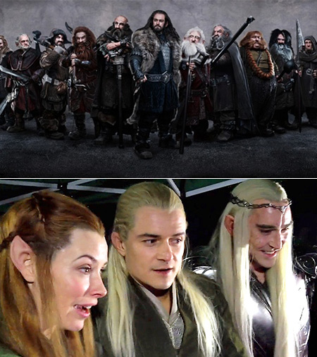 What 13 Dwarves From The Hobbit Movies Look Like Without