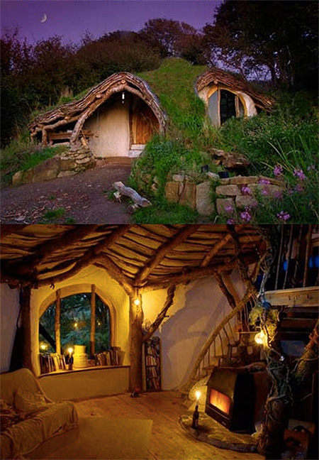 real life hobbit house he created a real life hobbit