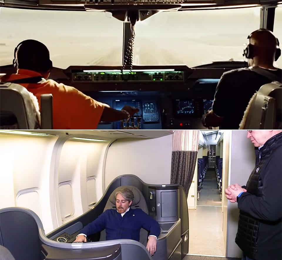 Hollywood Plane Scenes Interior