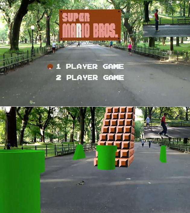 HoloLens Mario Bros