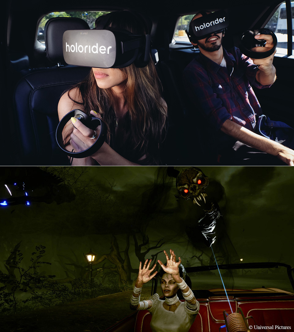Holoride Virtual Reality Car