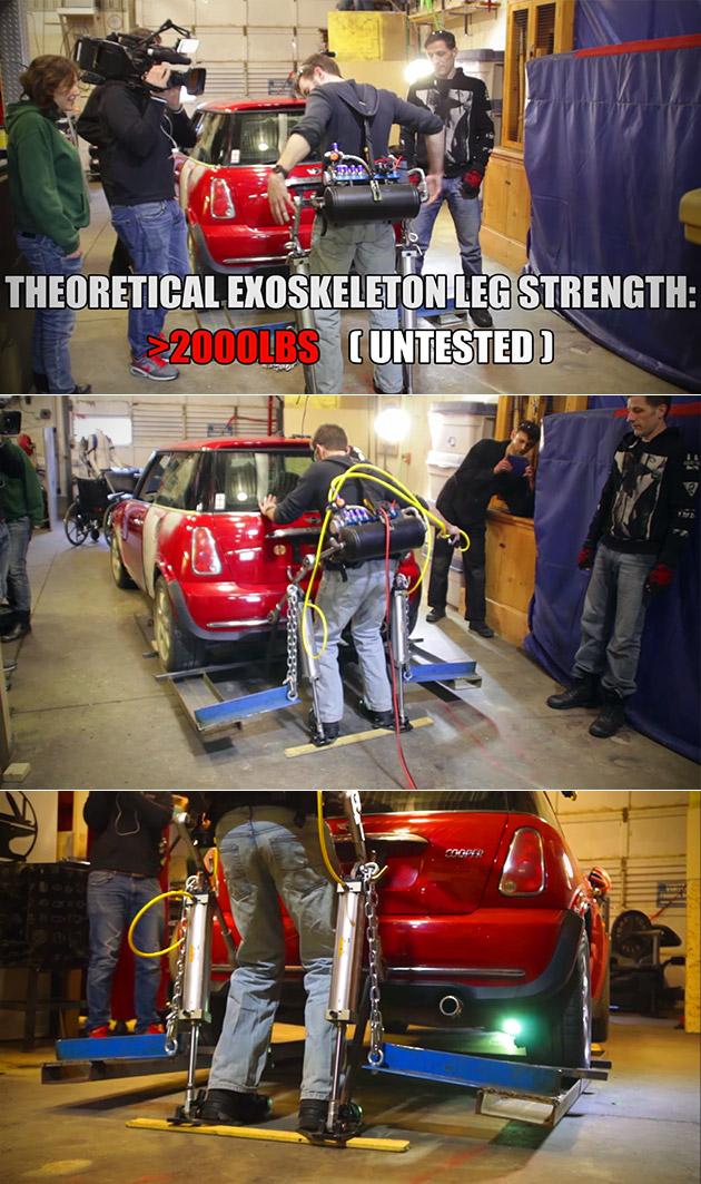 Homemade Exoskeleton