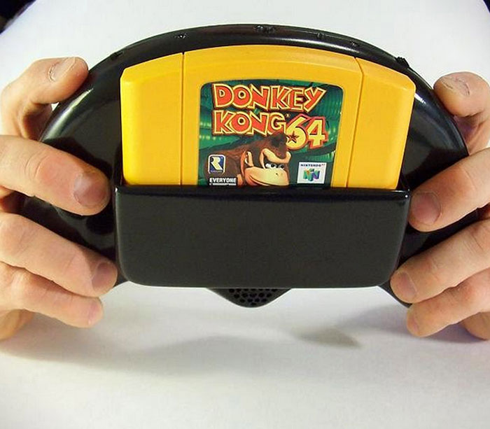 Homemade Handheld N64