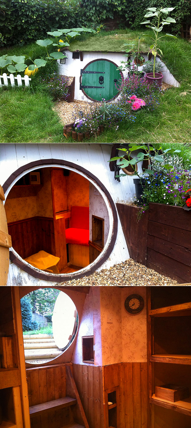 Hobbit House Homemade